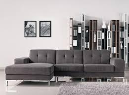 grey fabric modern living room sectional sofa w wooden legs casa forli modern grey fabric sectional sofa w left facing chaise