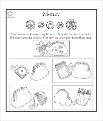 20 sample kids money worksheet templates 20 free pdf documents