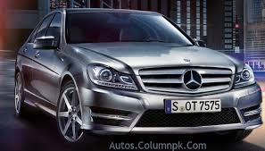 mercedes c class avantgarde 2013 price in pakistan features