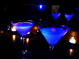 brighten up your party with these cool glow in the dark cocktails
