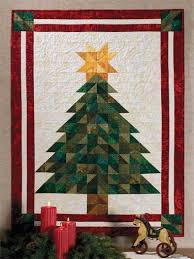 quilted christmas oh christmas tree quilt pattern