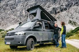 volkswagen california camper aufstelldach schlafdach hubdachbett multicamper adventure von
