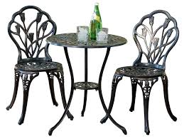 Bistro Sets Outdoor Patio Furniture Best Selling Nassau Cast Aluminum Outdoor Bistro