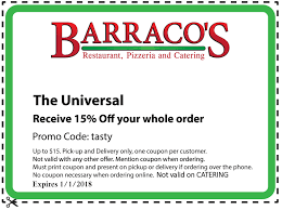 barraco u0027s restaurant pizzeria u0026 catering