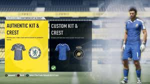 goalkeeper jersey design your own fifa 17 pro clubs new kit crest creator youtube