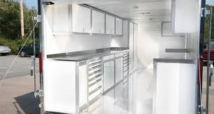 race car trailer cabinets aluminum cabinets for enclosed trailers race vehicle moduline