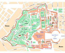 Chicago Tourist Map Maps Of Vatican Detailed Map Of Vatican In English Tourist Map