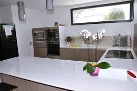 cuisine blanc laqué et bois frais cuisine blanc laqua et bois collection avec cuisine blanc
