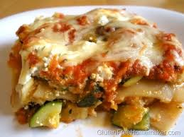 vegetable lasagna gluten free homemaker