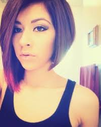 nice hairstyle for short medium hair with one hair band best 25 uneven bob ideas on pinterest uneven bob haircut