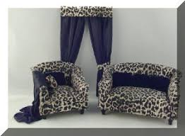 Leopard Chaise Lounge Dressed Furniture Index