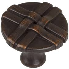 Oil Rubbed Bronze Kitchen Cabinet Knobs Hickory Hardware Craftsman 1 1 4 In Oil Rubbed Bronze Highlighted