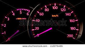 Light Pink Car Car Gauge Meter Pink Back Light Stock Photo 112279466 Shutterstock