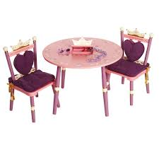 wildkin kids princess 3 piece table and chair set