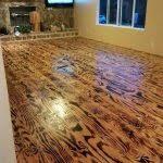 diy kitchen floor ideas diy herringbone peel n stick tile floor before and after grace cheap