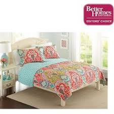 Walmart Girls Bedding Better Homes And Gardens Quilt Collection Jeweled Damask Bedding