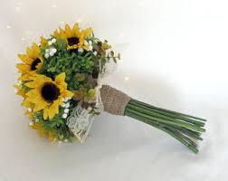 Sunflower Bouquets Bouquet Sunflower Etsy