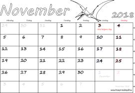 Kalender 2018 Helgdagar November 2018 Namnsdagar Veckonummer Gratis Utskrivbara Pdf