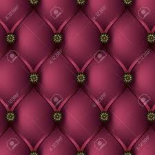 Leather Upholstery Sofa Seamless Vector Texture Leather Upholstery Sofa Buttoned Pink