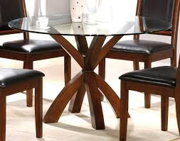 ashley furniture round glass dining table best of contemporary