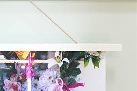 ten june diy hanging wooden large print frame