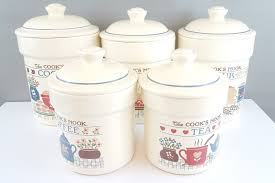 100 vintage ceramic kitchen canisters amazon com square