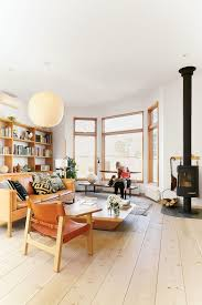 scandinavian design classics in a modern yet cosy living room