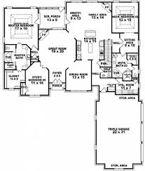 House Plans With Downstairs Master Bedroom Apartments 2 Master Bedroom House Plans First Floor Master House