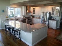 best images about kitchen ideas pinterest white cabinets the shaped kitchen very similar layout except that includes peninsula partial fourth wall for additional cabinets