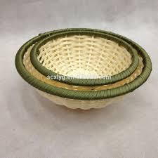 wholesale round weaving rattan storage baskets in malaysia buy