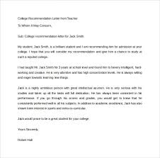 College Letter Of Recommendation From College Letters Of Recommendation From Mediafoxstudio