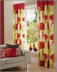 Teal And Red Curtains Charming Yellow And Red Kitchen Curtains 68 For Your Target