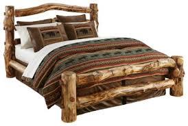 Cheap Log Bed Frames Wood Bedroom Furniture Collection Log Bed Bass Pro Shops