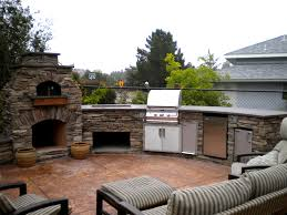 delightful decoration outdoor kitchen with pizza oven ravishing