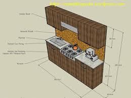 desain dapur lebar 2 meter desain interior dapur kecil minimalist ukuran 1 9 3 8 m rumahbagusku