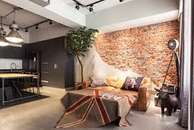 Industrial Interior Design Taipei Apartment Industrial And Vintage Style Design