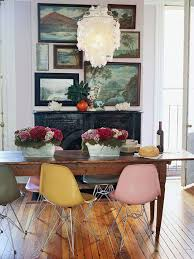 antique table with modern chairs interior inspirations mixing modern with vintage