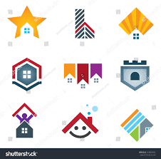 my beautiful home house icons set stock vector 165801455