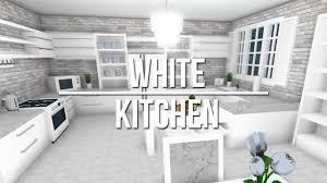 White Kitchen Pictures Ideas Roblox Welcome To Bloxburg White Kitchen
