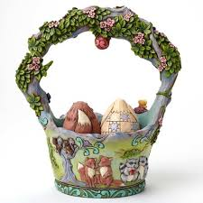 jim shore easter baskets jim shore easter basket