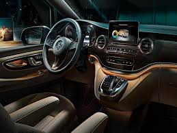 luxury minivan mercedes mercedes benz v klasė naujas patikimas šeimos furgonas