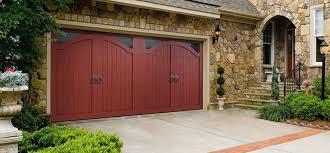 one of a kind wood garage doors