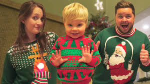 ugly christmas sweater dance party youtube