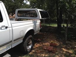 Ford F250 Truck Cover - tips for one guy removing re installing a camper shell bed topper