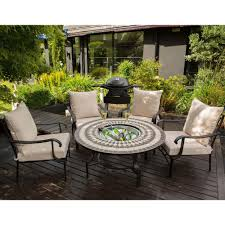 Firepit Set by Lg Outdoor Casablanca 4 Seat Firepit Lounge Set By Leisuregrow