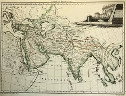 Map Of Asia And Middle East by Brun Map Of Ancient Asia And Middle East 1812