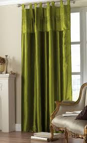 olive green drapes green curtains livingroom emerald green and