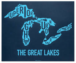 The Great Lakes Map Great Lakes Map 24