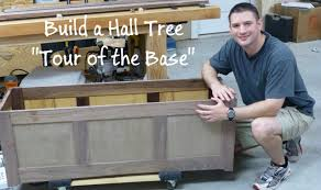hall tree build a hall tree tour of the base part 1 ep1 youtube
