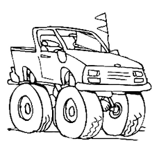 monster truck coloring pages 27279 bestofcoloring com